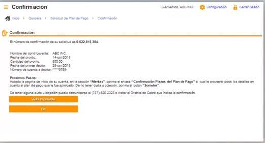 confirmar solicitud de pago en el sistema suri de hacienda