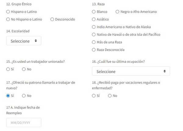 mas informacion sobre solicitud inicial desempleo pua en puerto rico