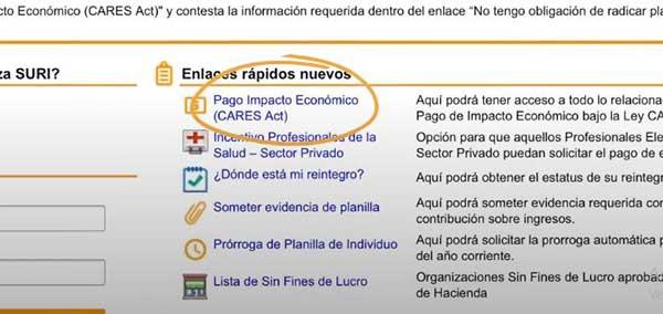 arreglar problema informacion cuenta bancaria suri